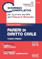 Corso completo per la prova scritta dell'Esame di Avvocato - Massimiliano Di Pirro