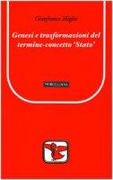 Genesi e trasformazioni del termine-concetto 'Stato' - Gianfranco Miglio