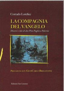 Copertina di 'La compagnia del Vangelo. Discorsi e idee di don Pino Puglisi a Palermo'