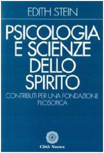 Copertina di 'Psicologia e scienze dello Spirito. Contributi per una fondazione filosofica'