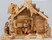 Copertina di 'Presepe a capanna stile moderno completo di Magi e pastore'