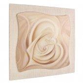 """Quadro in resina effetto tela """"Madonna col Bambino"""" - dimensioni 49x49 cm"""