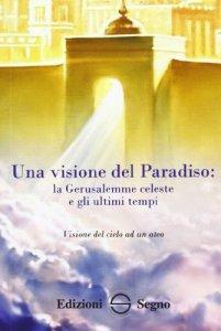 Copertina di 'Una visione dal paradiso'
