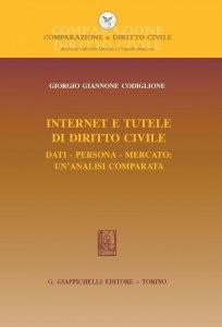 Copertina di 'Internet e tutele di diritto civile - e-Book'