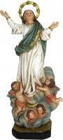 Statua Madonna Assunta da 12 cm in confezione regalo - versione FRANCESE di  su LibreriadelSanto.it