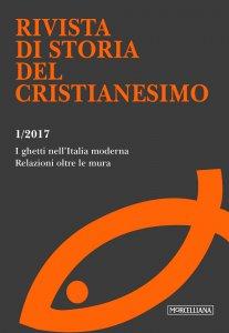Copertina di 'I RSCR. 1/2017: Ghetti nell'Italia moderna'
