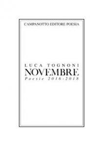 Copertina di 'Novembre. Poesie 2016-2018'
