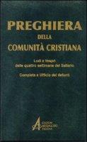 Preghiera della comunità cristiana