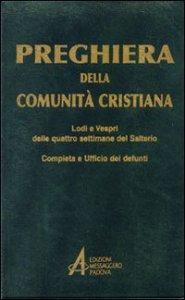 Copertina di 'Preghiera della comunità cristiana'