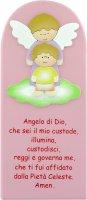 Pala Angelo di Dio rosa cm 28x12