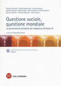 Copertina di 'Questione sociale, questione mondiale'