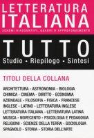 Tutto letteratura italiana