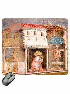 """Copertina di 'Mousepad """"Crocifisso di San Damiano""""'"""