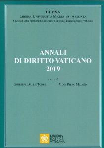 Copertina di 'Annali di diritto vaticano 2019'