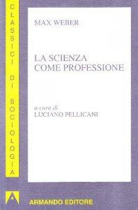 Copertina di 'La scienza come professione'