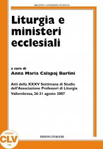 Copertina di 'Liturgia e ministeri ecclesiali'