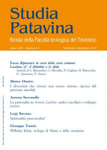 Copertina di 'Studia Patavina 2016/3'