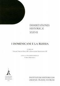 Copertina di 'Domenicani e la Russia. (I)'