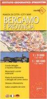 Bergamo 1:9 000Provincia 1:80 000. Ediz. multilingue