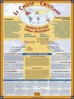 Le chiese cristiane. Un poster ecumenico per saperne di pi� sulle diverse identit� del mondo cristiano - Bocchini Sergio
