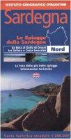 Sardegna. Nord 1:200.000. Ediz. italiana e inglese