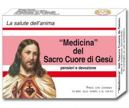 Copertina di 'Medicina del Sacro Cuore di Gesù'