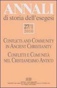 Copertina di 'Annali storia esegesi (2010)'