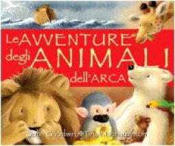 Copertina di 'Le avventure degli animali dell'arca'
