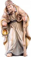 Giuseppe R.K. - Demetz - Deur - Statua in legno dipinta a mano. Altezza pari a 15 cm.