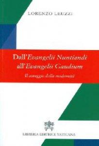Copertina di 'Dall'evangelii nuntiandi all'evangelii gaudium'