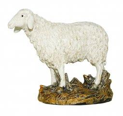 Copertina di 'Pecora testa alta su base Linea Martino Landi - presepe da 12 cm'