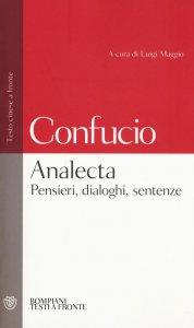 Copertina di 'Analecta. Pensieri, dialoghi, sentenze'