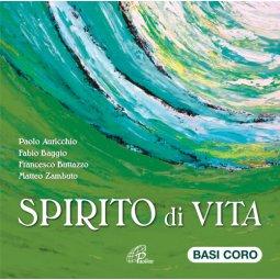 Copertina di 'Spirito di vita. CD -  Basi Coro di Canti allo Spirito per la liturgia e la preghiera.'