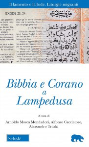 Copertina di 'Bibbia e Corano a Lampedusa'