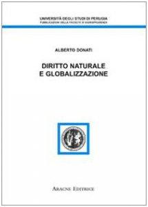 Copertina di 'Diritto naturale e globalizzazione'