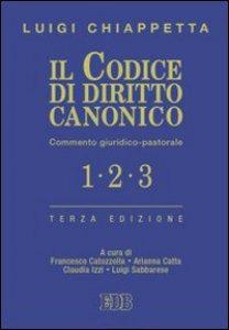 Copertina di 'Il codice di diritto canonico'