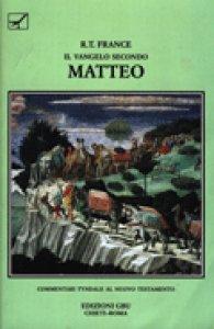 Copertina di 'Il Vangelo secondo Matteo'