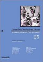 Giornale di storia costituzionale. Colonie e costituzioni. Ediz. italiana e inglese
