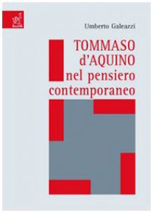 Copertina di 'Tommaso d'Aquino nel pensiero contemporaneo'