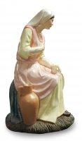 Immagine di 'Madonna seduta con brocca Linea Martino Landi - presepe da 120 cm'