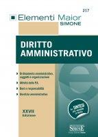 Elementi Maior di Diritto Amministrativo - Redazioni Edizioni Simone