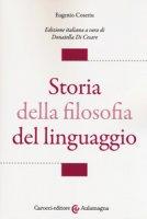 Storia della filosofia del linguaggio - Coseriu Eugenio