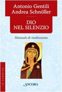 Copertina di 'Dio nel silenzio'