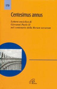 Copertina di 'Centesimus annus'