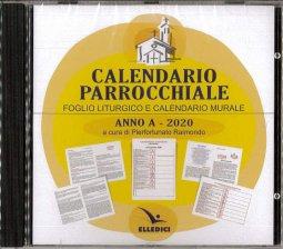 Copertina di 'Calendario parrocchiale'