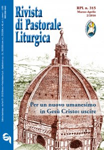 Rivista di Pastorale Liturgica - n. 315