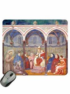 """Copertina di 'Mousepad """"La predica dinanzi a Onorio III""""'"""