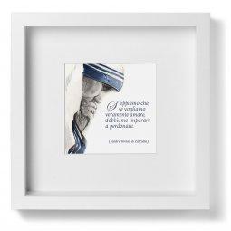 Copertina di 'Quadro Madre Teresa di Calcutta - Sappiamo che...'