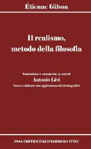Copertina di 'Il realismo, metodo della filosofia'
