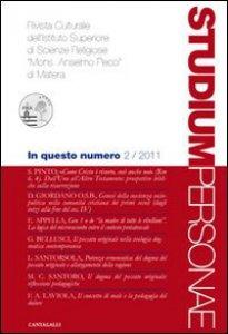 Copertina di 'Studium Personae. Rivista culturale dell'Istituto superiore di scienze religiose Mons. A. Pecci di Matera (2011)'